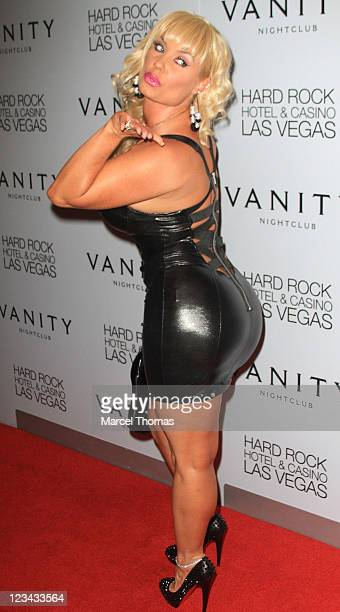 Coco Austin arrives to host an Evening at Vanity Nightclub At The Hard Rock Hotel And Casino on September 2 2011 in Las Vegas Nevada
