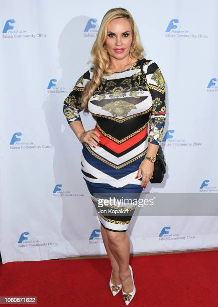 Coco Austin attends Friends Of The Saban Community Clinic's 42nd Annual Gala at The Beverly Hilton Hotel on November 12 2018 in Beverly Hills...