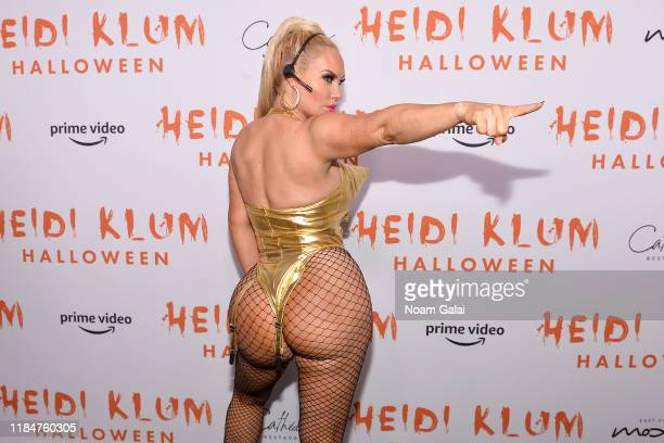 Coco Austin attends Heidi Klum's 20th Annual Halloween Party presented by Amazon Prime Video and SVEDKA Vodka at Cathédrale New York on October 31...
