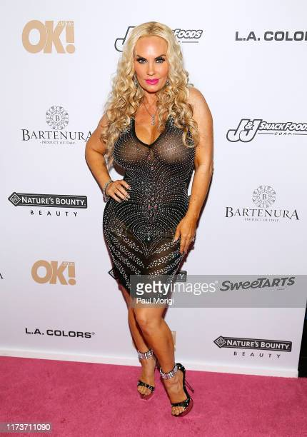 Coco Austin attends the OK Magazine NYFW Party at PhD Dream Downtown Hotel Rooftop on September 10 2019 in New York City