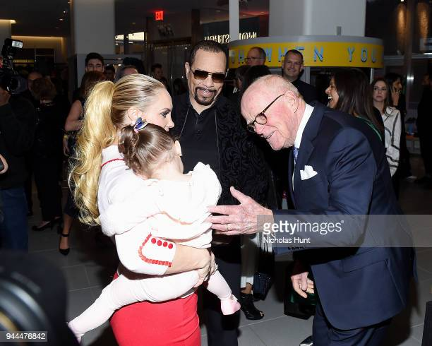 Coco Austin, Ice-T and Bruce Nordstrom attend the Nordstrom Men's NYC Store Opening on April 10, 2018 in New York City.