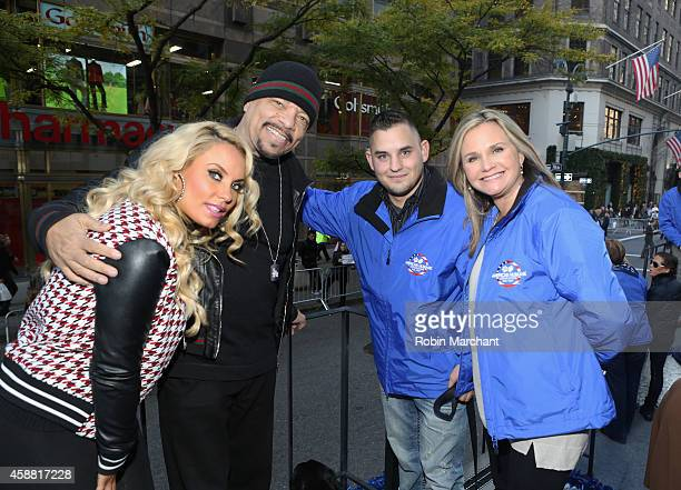Coco Austin IceT Jeff Deyoung and Dr Robin Ganzert attends American Humane Association Salutes FourLegged Military Heroes During 2014 Veterans Day...