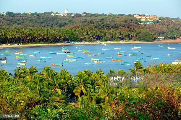 coco beach, goa - goa stock pictures, royalty-free photos & images