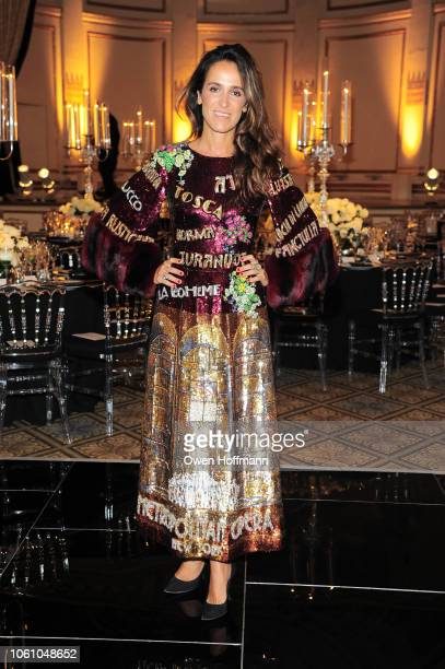 Coco Brandolini d'Adda attends BCNY 70th Annual Fall Dance at The Plaza Hotel on October 23 2018 in New York City