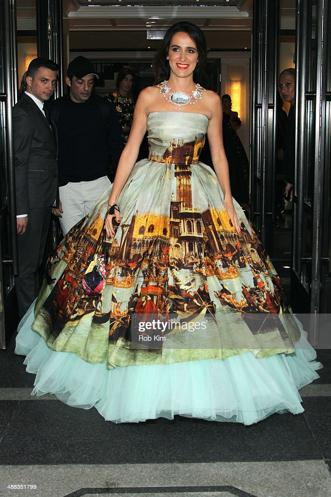 Met Gala 2014 Departures From The Mark Hotel - NYC : News Photo