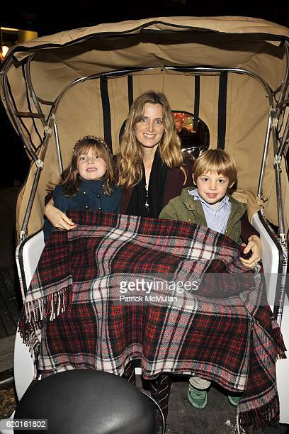 Coco Brooks Amanda Cutter Brooks and Zachary Brooks attend An Afternoon to Celebrate The new Ralph Lauren Childrens Store Hosted by Julie Janklow and...