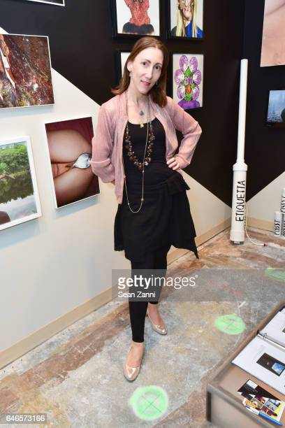 Coco Dolle attends Spring Break Art Fair 2017 Vernissage at 4 Times Square on February 28 2017 in New York City