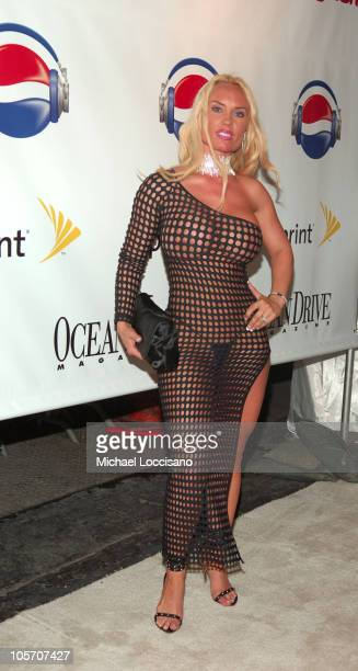 Coco during 2005 MTV VMA Diddy Hosts 'The One And Only Official After Party' at Space in Miami Florida United States