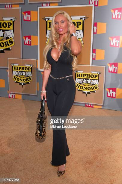 Coco during 2005 VH1 Hip Hop Honors - Arrivals at Hammerstein Ballroom in New York City, New York, United States.
