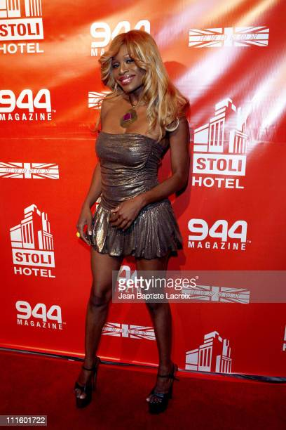 Coco during 944 Magazine First Anniversary Party Arrivals at Stoli Hotel in Hollywood California United States