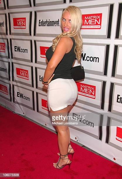 CoCo during Entertainment Weekly/Matrix Men 2006 Upfront Party at The Manor in New York City New York United States