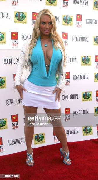 Coco during First Star's Annual 'Celebration For Children's Rights' Arrivals at Private Residence in Beverly Hills California United States