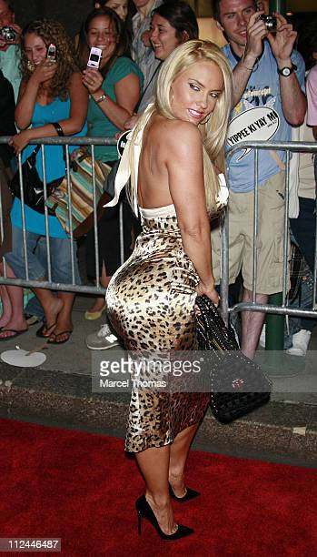 Coco during Live Free or Die Hard New York City Primiere Arrivals at Radio City Music Hall at 1260 Avenue of the Americas in New York City New York...