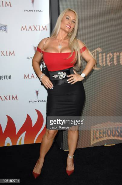 Coco during Maxim's 8th Annual Hot 100 Party Arrivals at The Gansevoort Hotel in New York City New York United States