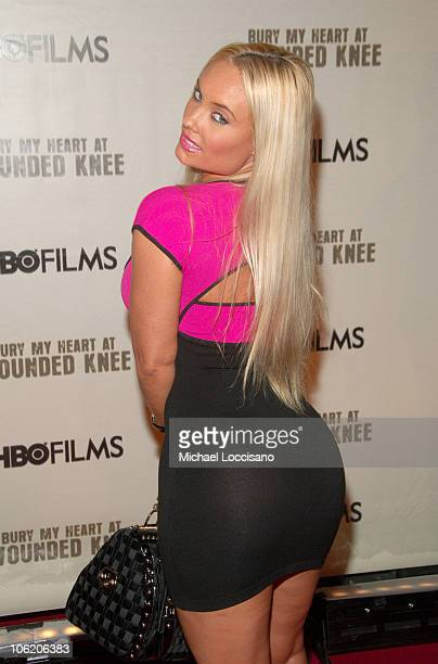 Coco during The World Premiere of HBO Film's Bury My Heart at Wounded Knee Arrivals at American Museum of Natural History in New York City New York...
