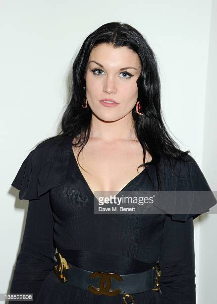 Coco Fennell attends the launch of mother Louise Fennell's debut novel Dead Rich at White Cube on February 8 2012 in London England