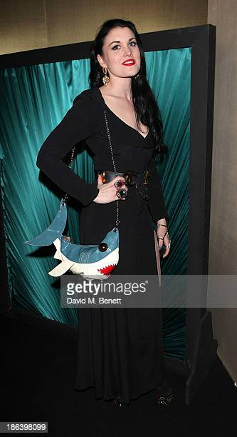 Coco Fennell attends the launch of the Vogue Pop Up Club as part of Westfield London's 5th birthday celebrations at Westfield on October 30 2013 in...