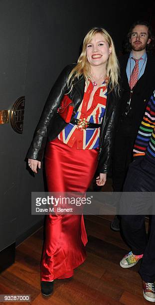 Coco Fennell attends the Tatler Little Black Book 2009 party at ChinaWhite night club on November 20 2009 in London