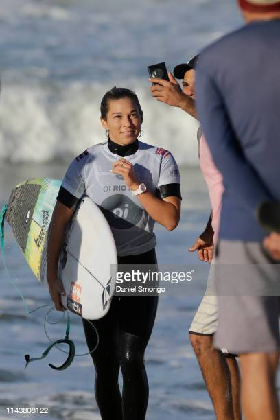 Coco Ho of Hawaii will surf in Round 2 of the Oi Rio PRO 2018 after placing second in Heat 1 of Round 1 at Saquarema, Ita√∫na, BRA.