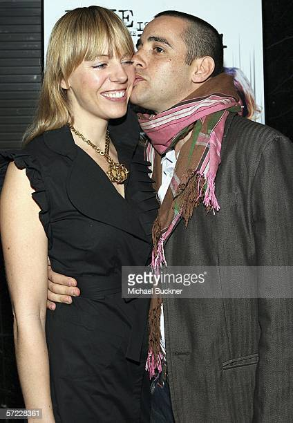 Coco Iverson and director Elliott Lester arrive at the Love Is The Drug Industry Screening at the Academy of Television Arts and Sciences on March 31...