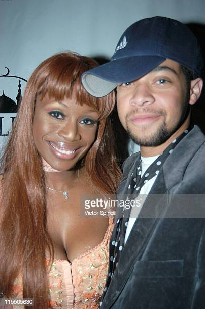 Coco Johnsen and Sabin Rich during Celebrating Lorenzo Owen's Finals Finish in Oprah Winfrey's Popstar Challenge February 27 2006 at Basque in...