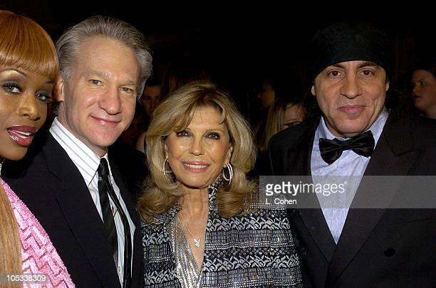 Coco Johnsen Bill Maher Nancy Sinatra and Steven Van Zandt