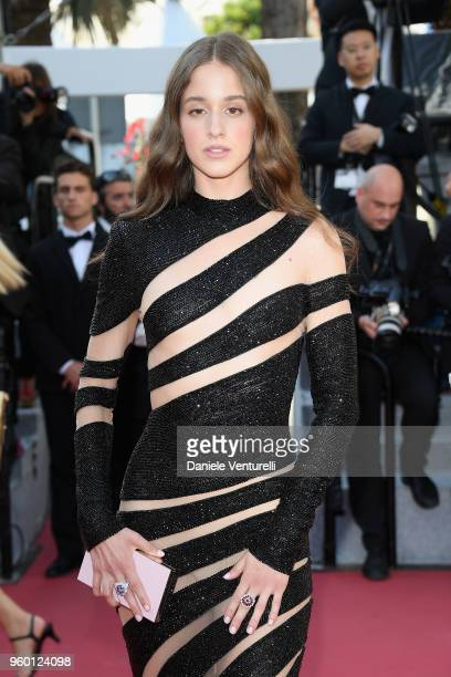 Coco König attends the Closing Ceremony screening of 'The Man Who Killed Don Quixote' during the 71st annual Cannes Film Festival at Palais des...