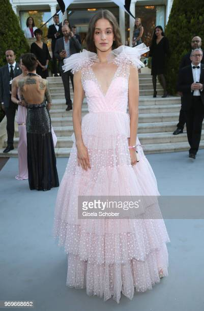 Coco Koenig arrives at the amfAR Gala Cannes 2018 at Hotel du CapEdenRoc on May 17 2018 in Cap d'Antibes France