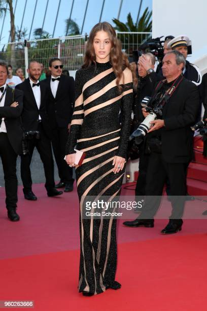 Coco Koenig attends the Closing Ceremony screening of 'The Man Who Killed Don Quixote' during the 71st annual Cannes Film Festival at Palais des...
