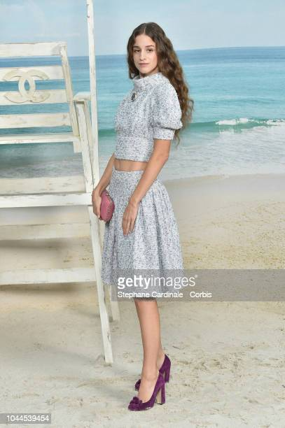 Coco Konig attends the Chanel show as part of the Paris Fashion Week Womenswear Spring/Summer 2019 on October 2 2018 in Paris France