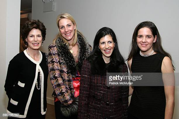 Coco Kopelman Courtney Moss Katie Colgate and Alexandra Mandis attend A Cocktail Reception to KickOff The Associate's Committee of The Society of...