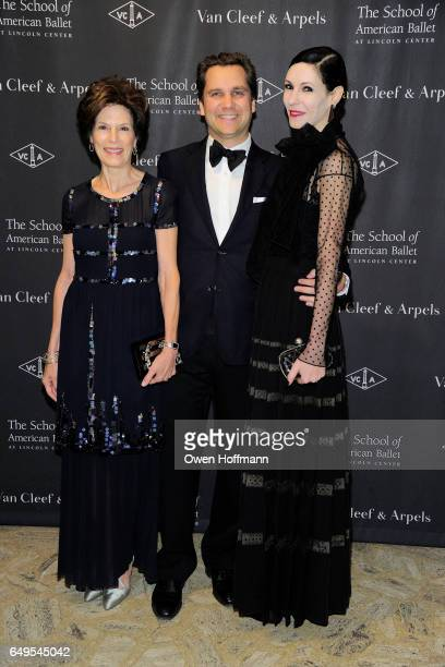 Coco Kopelman Harry Kargman and Jill Kargman attend The School of American Ballet's 2017 Winter Ball at David H Koch Theatre on March 6 2017 in New...