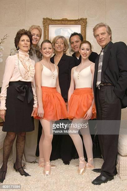 Coco Kopelman Joanne de Guardiola Grace McLoughlin Liz Peek Jock Soto Sylvie Rood and Peter Martins attend The School of American Ballet Winter Ball...