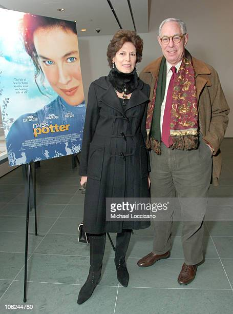 Coco Koppelman and Arie Koppelman during Miss Potter Special Private Screening at MoMA Theatre in New York City New York United States
