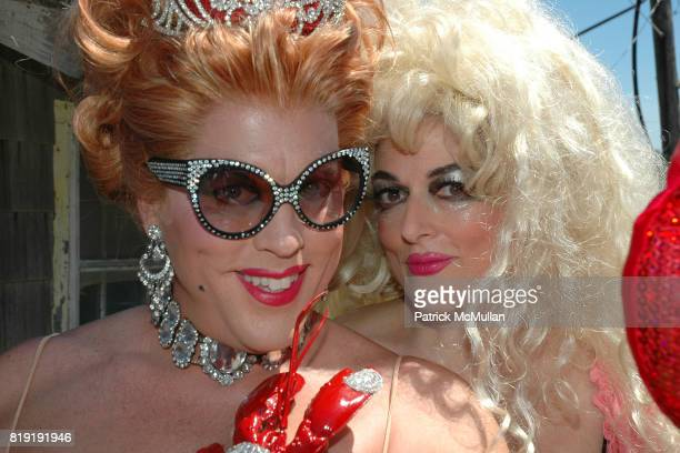 Coco Love and Ginger Snap attend INDEPENDENCE DAY THE INVASION OF THE PINES at Cherry Grove and Fire Island Pines on July 4 2010 in Brookhaven New...