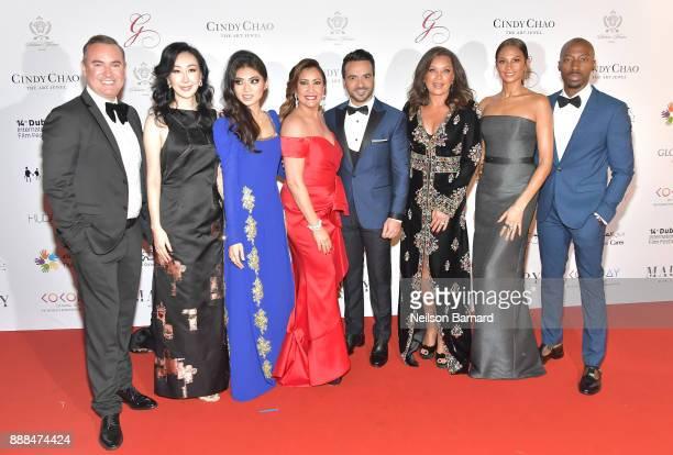 Coco Maria Bravo Luis Fonsi Vanessa Williams Alesha Dixon and Azuka Ononye attend the Global Gift Gala on day three of the 14th annual Dubai...