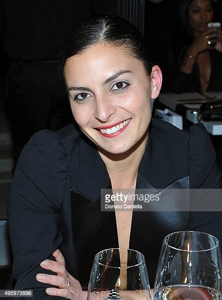 Coco Mowinckel attends a private dinner hosted by Farfetch Erica Pelosini Angelique Soave DJ Kiss to celebrate Farfetch in LA on November 5 2015 in...