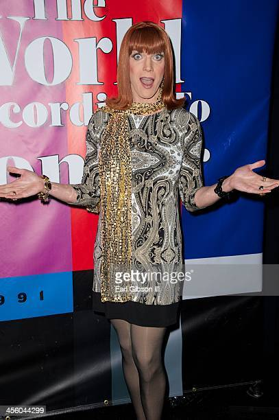 CoCo Peru attends the World Of Wonder's 1st Annual WOWie Awards And Holiday Party at The Globe Theatre on December 12, 2013 in Universal City,...