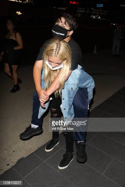 Coco Quinn is seen on August 19, 2020 in Los Angeles, California.