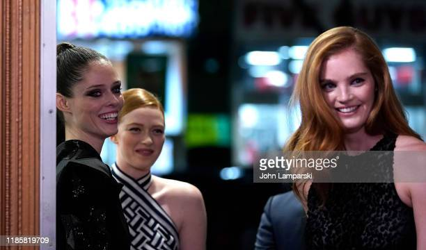 Coco Rocha Alexina Graham and Larsen Thompson attend We Are Family Foundation honors Dolly Parton Jean Paul Gaultier at Hammerstein Ballroom on...
