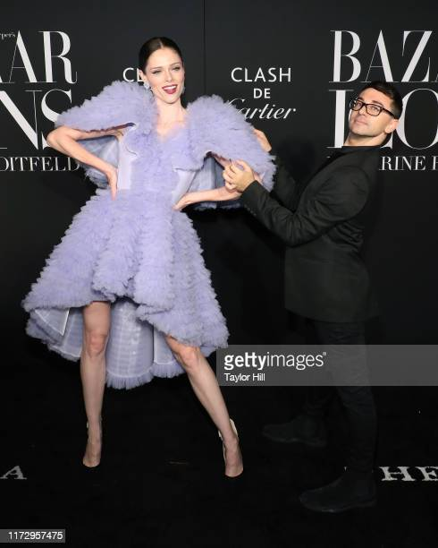 Coco Rocha and Christian Siriano attend the 2019 Harper ICONS Party at The Plaza Hotel on September 06, 2019 in New York City.