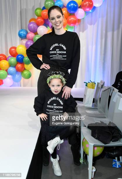 Coco Rocha and Ioni Conran attend the Runway Heroes To Benefit Childhood Cancer Research at Glasshouse Chelsea on November 17, 2019 in New York City.