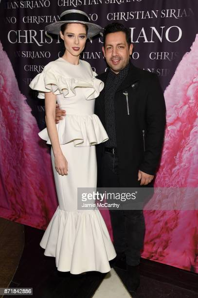 """Coco Rocha and James Conran attend Christian Siriano celebrates the release of his book """"Dresses To Dream About"""" at the Rizzoli Flagship Store on..."""