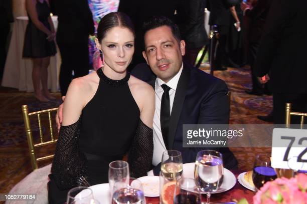 Coco Rocha and James Conran attend the 2018 Angel Ball hosted by Gabrielle's Angel Foundation at Cipriani Wall Street on October 22, 2018 in New York...