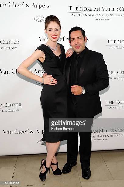 Coco Rocha and James Conran attend The Fifth Annual Norman Mailer Center Benefit Gala presented by Van Cleef Arpels at The New York Public Library on...