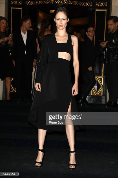 Coco Rocha arrives at the Harper's BAZAAR Celebration of 'ICONS By Carine Roitfeld' at The Plaza Hotel presented by Infor Laura Mercier Stella Artois...