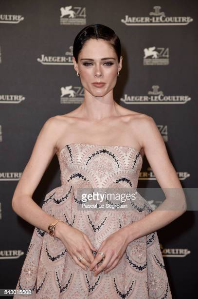 Coco Rocha arrives for the JaegerLeCoultre Gala Dinner during the 74th Venice International Film Festival at Arsenale on September 5 2017 in Venice...