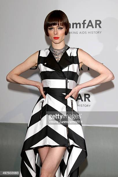 Coco Rocha attends amfAR's 21st Cinema Against AIDS Gala Presented By WORLDVIEW, BOLD FILMS, And BVLGARI at Hotel du Cap-Eden-Roc on May 22, 2014 in...