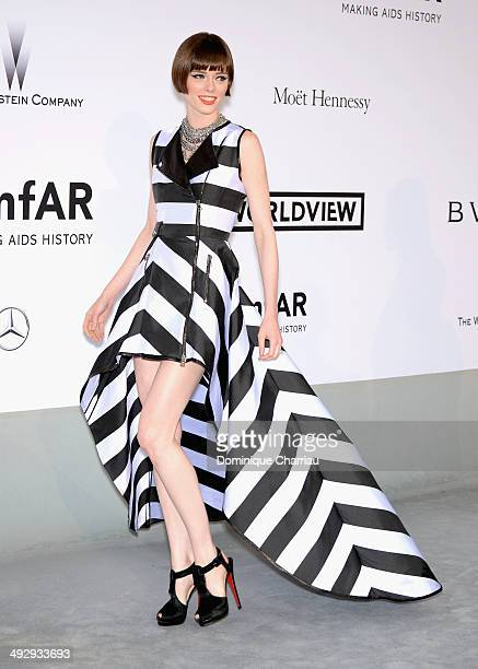 Coco Rocha attends amfAR's 21st Cinema Against AIDS Gala Presented By WORLDVIEW BOLD FILMS And BVLGARI at Hotel du CapEdenRoc on May 22 2014 in Cap...