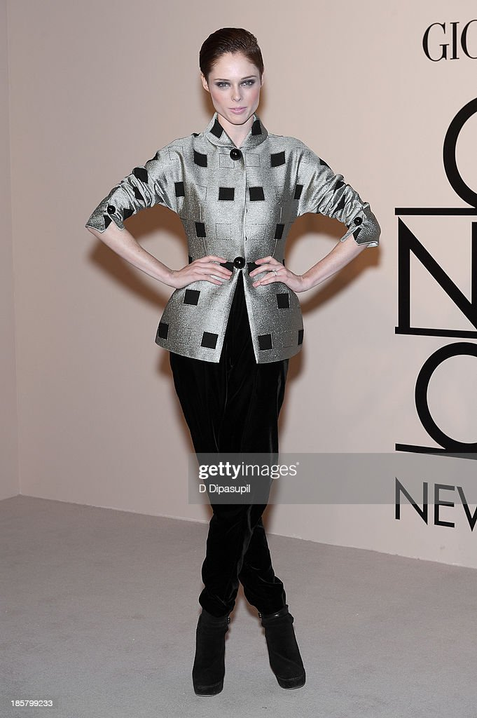 Coco Rocha attends Armani - One Night Only New York at SuperPier on October 24, 2013 in New York City.